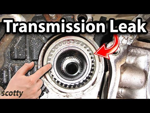 how to fix a transmission pan leak