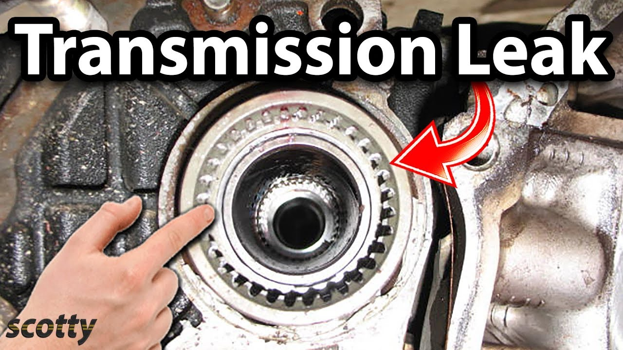 How to Fix a Transmission Leak in Your Car (Axle Seal)  YouTube