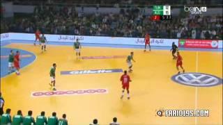 مباراة الجزائر تونس كاملة نهائي كأس إفريقيا لكرة اليد