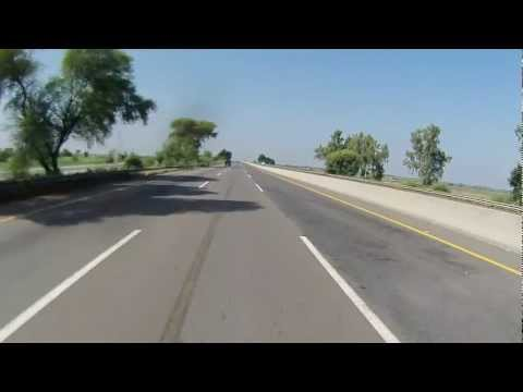 Lahore to Islamabad on Motorcycle via Motorway in HD - Part 2 of 6 Travel Video