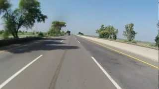 Lahore to Islamabad on Motorcycle via Motorway in HD - Part 2 of 6