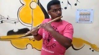 Tuhire on flute
