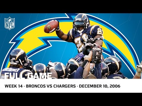 LaDainian Tomlinson Breaks Single-Season TD Record vs. Broncos (Week 14, 2006) | NFL Full Game