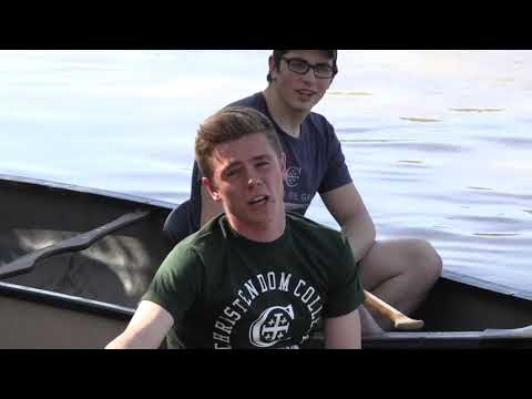 Christendom College ECSP 2019 Counselor Training | Canoeing on the Shenandoah