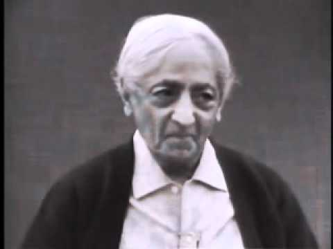 Jiddu Krishnamurti: Learning That Transforms Consciousness