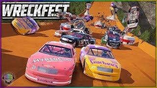 HOT WHEELS NO RESET NASCAR CHALLENGE! | Wreckfest