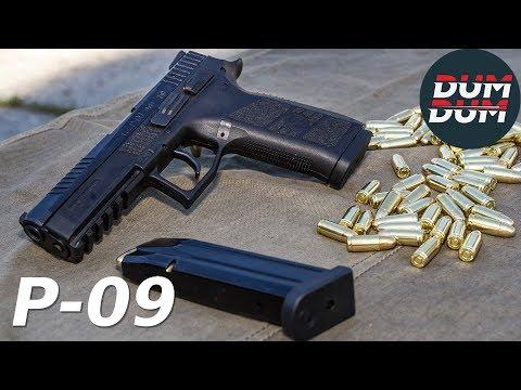 CZ P-09 opis pištolja (gun review, eng subs)