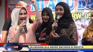 "Download Video Blusukan Lucu Ala ""Arumi Bachsin"" & ""Novita Hardini"" - ""Arumi Tetap Semangat Meski Hamil 7 Bulan"" MP3 3GP MP4"