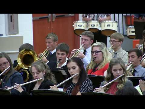 Fort Jennings High School Fall Band Concert 2016