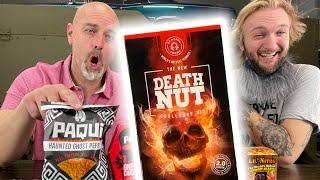 Death Nut Challenge | Worse than being pepper sprayed!