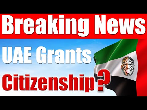 Video #4212 - UAE Grants Citizenship, Is It Of Any Use To The #UAE Expats? Here's The Truth.