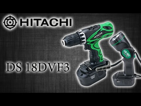 Аккумуляторный шуруповерт HITACHI DS 18DVF3