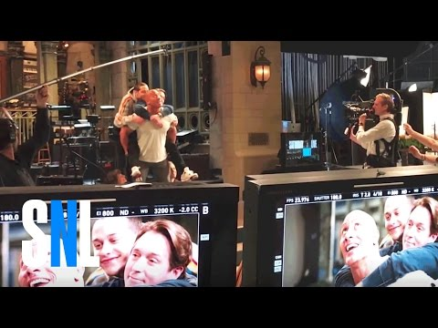 Download Youtube: Behind the Scenes of Dwayne Johnson's SNL Promo
