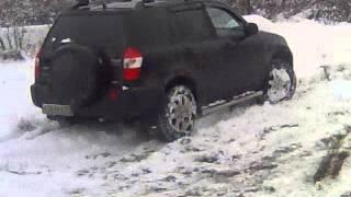 Черри Тиго 4х4  по первому снегу.(Это видео загружено с телефона Android., 2013-10-13T14:29:50.000Z)