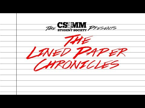 The Lined Paper Chronicles