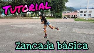 Tutorial patinaje: zancada básica (todos los patines) //  Tutorial basic skating stride (all skates)