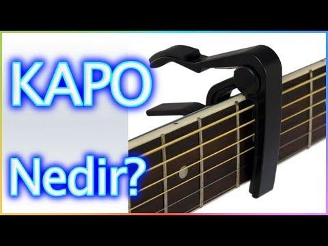 KAPO NEDİR - NE İŞE YARAR? Gitar Dersleri