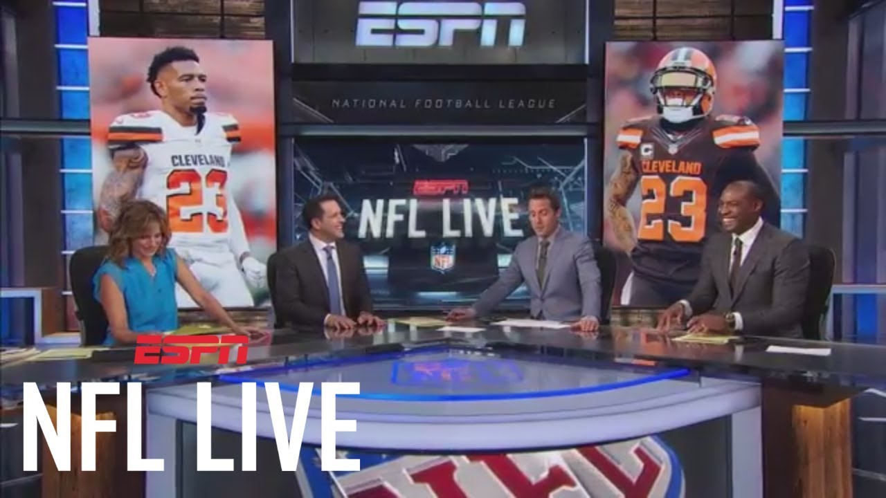 Adam Schefter surprised by college football promo during ...