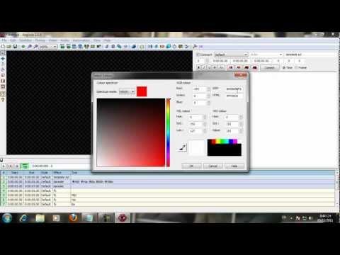 [Hướng dẫn] Cách tạo Karaoke Effect trong Aegisub - Bài 3: Sử dụng tag + template