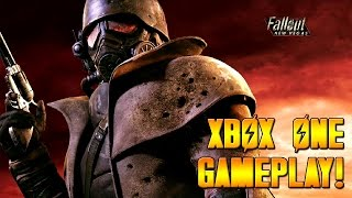 Fallout New Vegas XBOX ONE Gameplay! (XBOX ONE Backwards Comparability Gameplay HD)