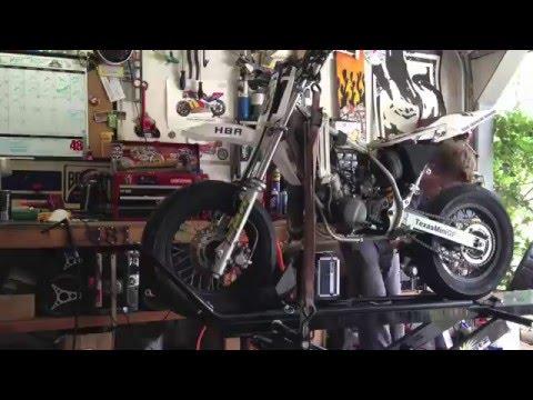 KX65 Motard Race Prep