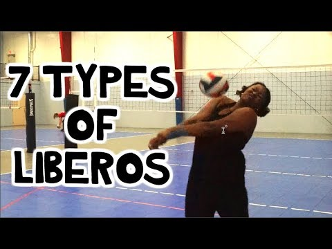 7 Types of Volleyball LIBEROS!