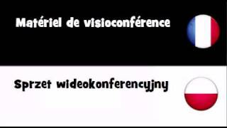 TRADUCTION EN 20 LANGUES = Matériel de visioconférence