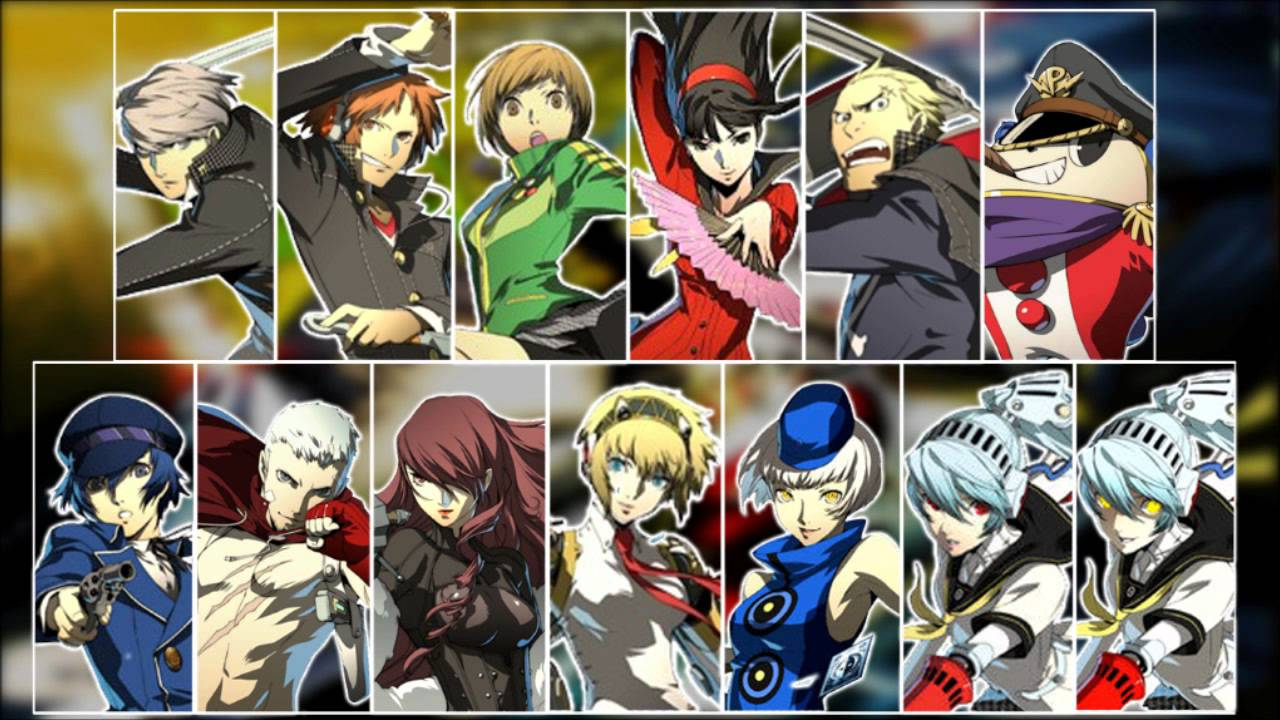 Persona 4 Anime Characters Database : Persona arena all character themes youtube