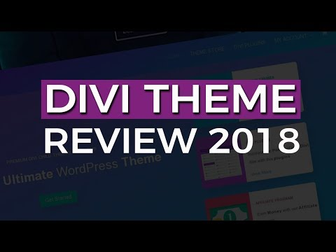 Divi Theme Review 2017 - Most Popular Wordpress Theme In the World?