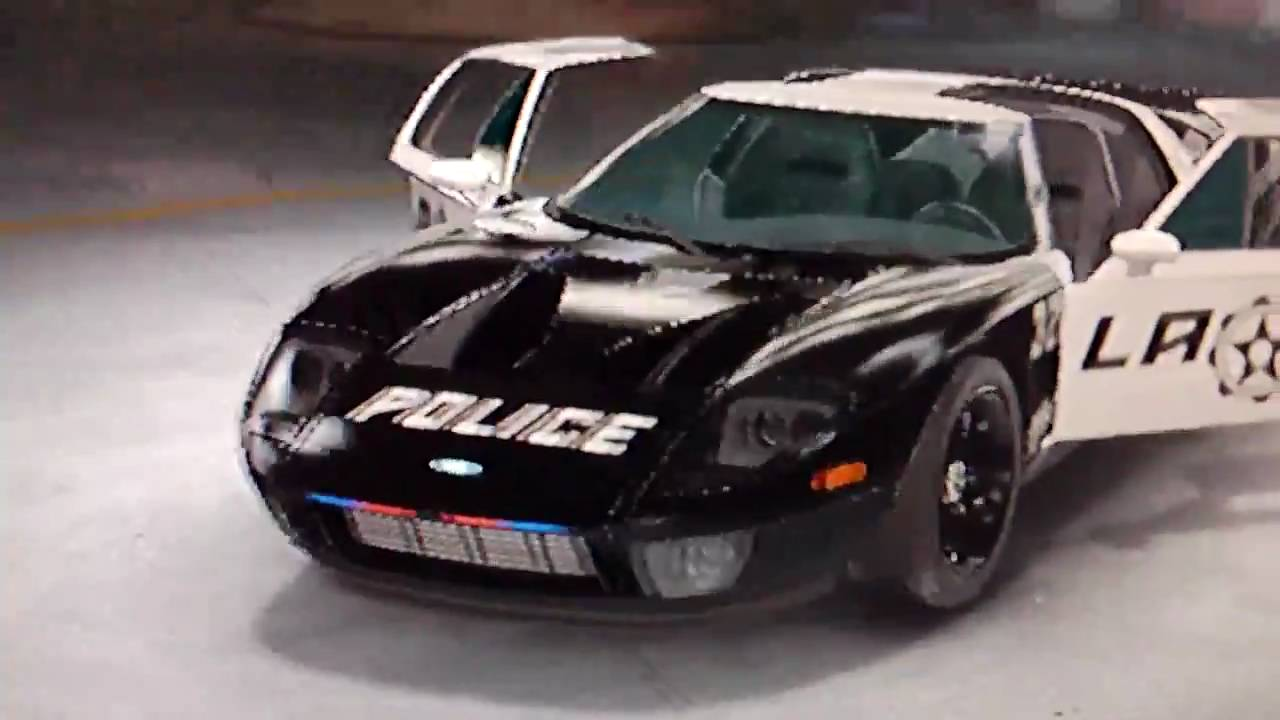 Midnight Club Los Angeles Pursuit Ford Gt Lapd Police Car Hd