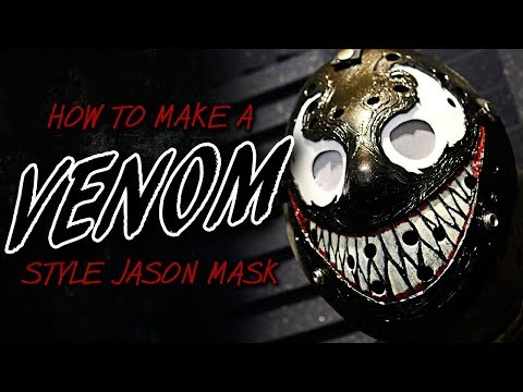 "How to Make a ""Venom"" Style Jason Mask - Friday The 13th DIY"