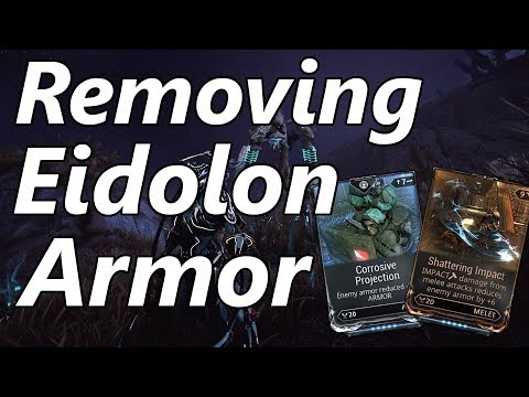 Warframe   Eidolon Hunter #3: Stripping Armor