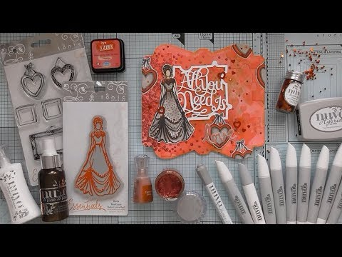 Tonic Memory Book Art Journal - All You Need is Love :D