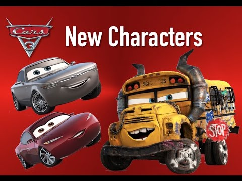 cars 3 new characters miss fritter sterling natalie. Black Bedroom Furniture Sets. Home Design Ideas