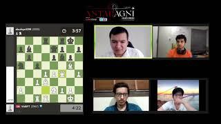 Chess Stream ft. Vidit Gujrathi, Sahaj Grover   Chess Royals Finale   Antaragni '20   IIT Kanpur