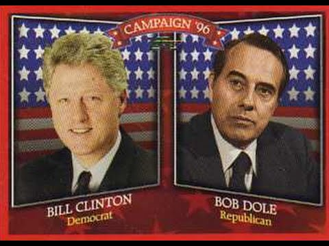 1996 Presidential Debate - Bill Clinton vs. Bob Dole