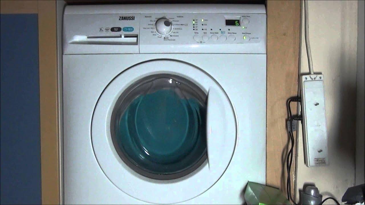Zanussi Aquafall Washing Machine Spinning For 10 Hours