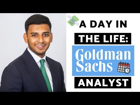 A Day in the Life of a Goldman Sachs Analyst (The HONEST Truth)