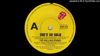 The Rolling Stones - She's So Cold 1980 HQ