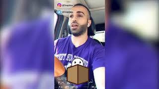 الراشد - جلد عهود العنزي في اعلان بضاعه تقليد !!!