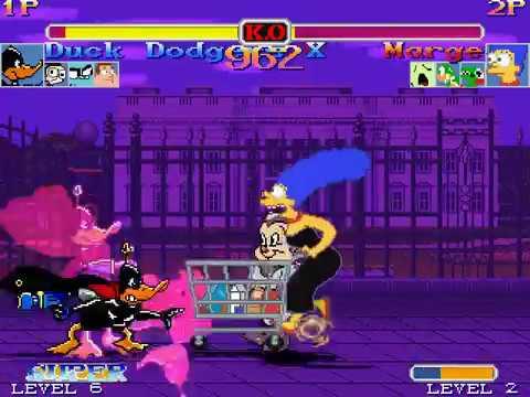 Mugen Team Duck Dodgers X vs Team Marge Simpson