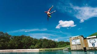 Let Me Live: Insane Water Slide RAMP! - BSR Super Slide