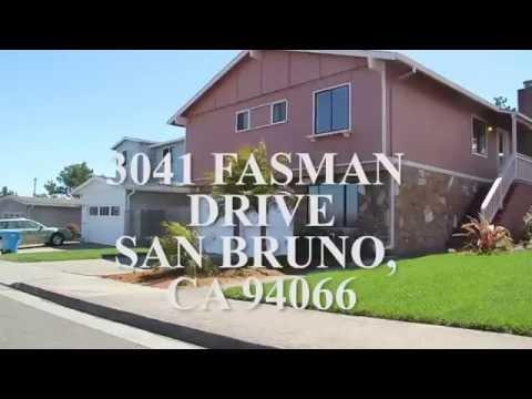 3041 Fasman Drive, San Bruno CA 94066   Bay Area Real Estate