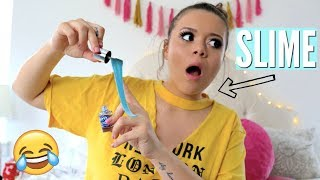 DIY Funny SLIME PRANKS for April Fools! | Krazyrayray