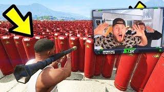 GTA 5: HUNGER GAMES wird eskalieren! GEHEIME TRICKS!