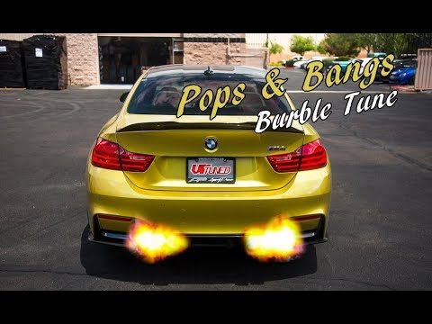 Pops and Bang Burble ECU Tune on the BMW M3 F80 by VRTuned