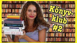 10 könyv, amit idén olvastam - Könyvklub #2 | Viszkok Fruzsi