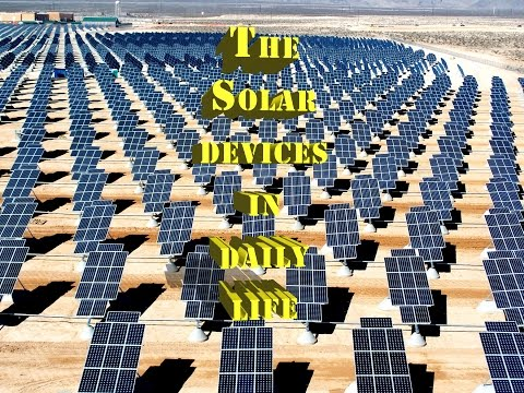 Solar Power System Products For Daily Life
