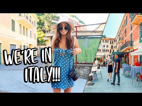WE MADE IT TO ITALY!!! Travel Vlogs!!