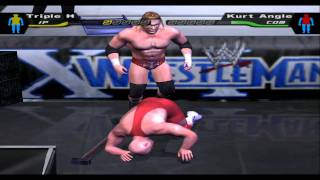 Smackdown! Here Comes The Pain on my PC using PCSX 2